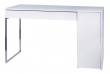Temahome - Prado Skrivebord - Hvid m/krom ben