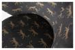 Woood Bo Loungestol - Velour m. panther print