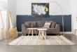 Zuiver - Dragon 3-pers. sofa - Mørk grå fløjl