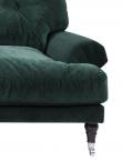 Altea 3 prs - Mørk grøn m. sorte ben