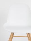 Zuiver - Albert Kuip Spisebordsstol - Hvid plast