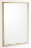 Belina Spejl - Lys eg 90x60 - Spejl - 90x60 cm
