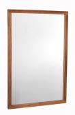 Belina Spejl - Olieret Eg - Spejl med ramme i olieret eg - 90x60 cm
