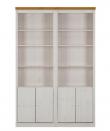 Anja Reol A hvidpigmenteret/honning fyrretræ - 219x148