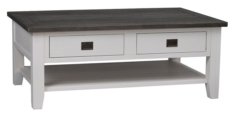 Nottingham Sofabord - Hvid - Sofabord 120x80 cm