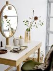 Bloomingville Bloom Spisebordsstol - Grøn velour