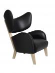 by Lassen - My Own Chair Lænestol - Sort læder