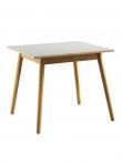 FDB Møbler - C35A Spisebord 82x82 - Eg/Lys grå