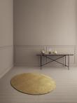 Linie Design Momento mustard, Viscose tæppe - 140x170