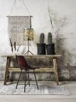 Nordal - Spisebordsstol - Brunt læder