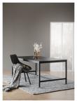 Alison Spisebordsstol m. drejefod - Grå/Sort