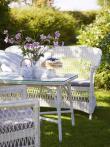 Sika-Design Charlot 2-pers Kurvesofa - Vintage White