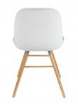 Zuiver Albert Kuip Spisebordsstol - Hvid plast