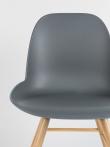 Zuiver Albert Kuip Spisebordsstol - Koks grå
