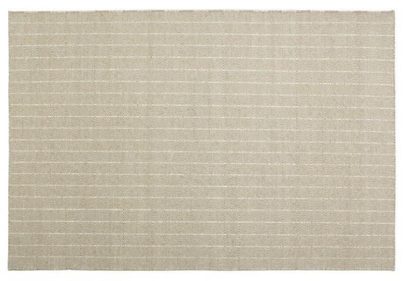 Fabula Living - Freja Hvid/natur Kelim - 200x300 - Håndvævet Kelim 200x300 cm