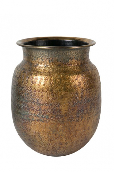Dutchbone Baha Vase - Metal - Messingvase