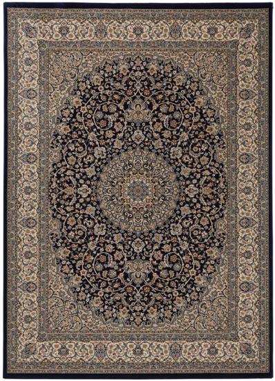 Teheran Wiltontæppe - Blå - 240x340
