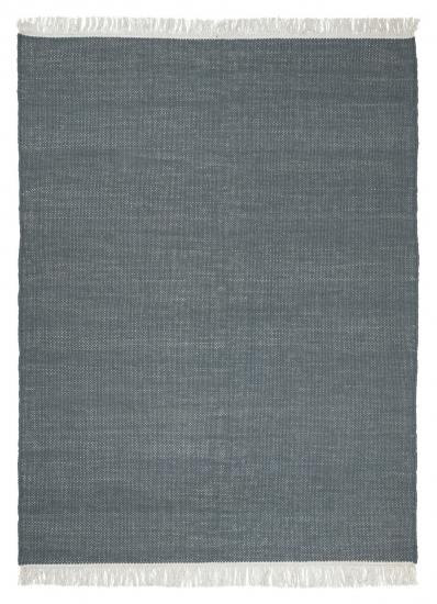 Linie Design Birla Uld tæppe, Blå, 140/200