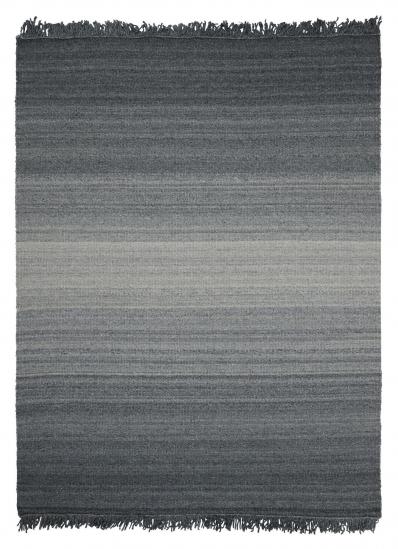 Linie Design Frei Uld tæppe, Grå, 140/200