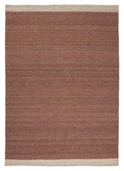 Linie Design Ledro Uld tæppe, rust, 140/200