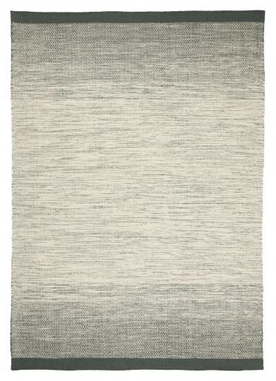 Linie Design Lule Uld tæppe, Grøn, 200/300