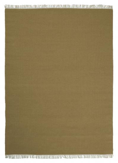 Linie Design Rainbow Uld tæppe, ochre, 170/240