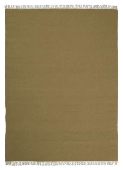 Linie Design Rainbow Uld tæppe, ochre, 200/300
