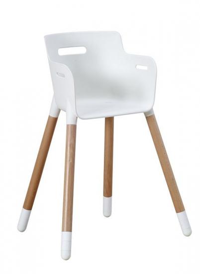 FLEXA Junior Stol - Hvid/Bøg