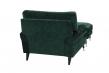 Altea stol - Mørk grøn m. sorte ben
