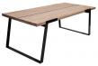 Silva Spisebord - 240 cm - Hvid olieret - Moderne og robust spisebord i massiv eg