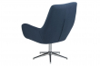 Clubber-A1 Drejestol m. 5-stjernet fod - Mørkeblå