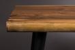 Dutchbone - Alagon Bænk 180x40 - Sorte ben