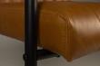 Dutchbone Stitched Spisebordsstol - Cognac