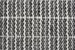 Fabula Living - Tanne Hvid/Sort Kelim - 200x300