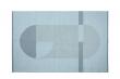 FLEXA Fladvævet tæppe 180x120cm - Blå