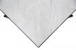 HANDVÄRK - Sofabord 92x92 - Hvid Marmor, sort stel
