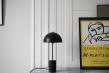 HANDVÄRK Studio Bordlampe Ø25 - Sort/Messing