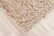 Oxford Håndvævet tæppe - Beige Rust - 140x200
