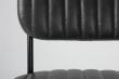 homii Jake Spisebordsstol - Sort PU læder sæde