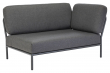 HOUE - LEVEL Loungesofa, højre, Mørkegrå