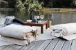 Sit&Sleep Out Futon madras/stol, Hvid