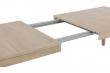 Northwood Spisebord 220x100 - Hvidpigmenteret