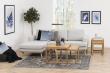 Tau Sofabordssæt 50x50 - Oliebehandlet