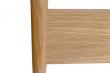 Woodman Farsta Sengeramme - Eg, 140x200
