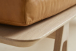 WOUD - Level Daybed - Cognac læder