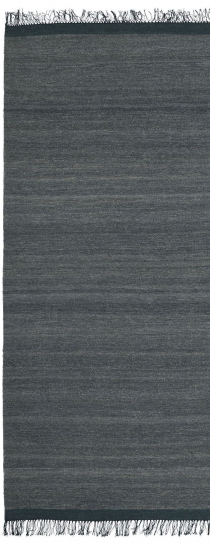 Linie Design Sigyn Uld/Viscose løber, anthracit, 80/250