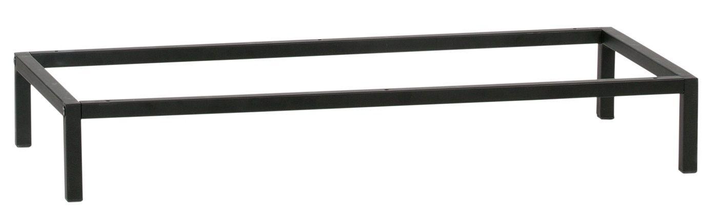 Lower Ben til modulreol - Sort metal