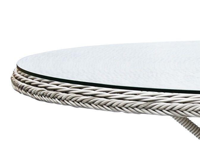 Sika-Design Glastop Bordplade - Ø120 - Glassplate