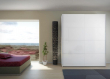 Firenze Garderobeskab - Hvid højglans