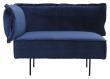 HANDVÄRK The Modular sofa hjørne - Blå Velour
